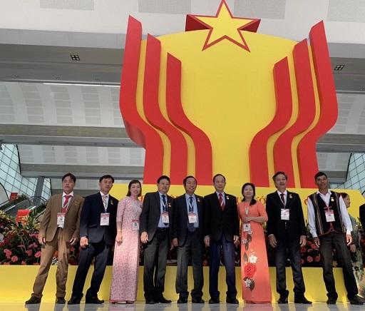 9 đại biểu VRG tham dự Đại hội Thi đua yêu nước toàn quốc lần thứ X