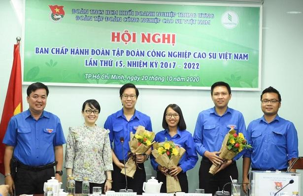 Đ/c Nguyễn Minh Thông và Trần Quốc Bình giữ chức Phó Bí thư Đoàn Thanh niên VRG