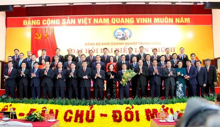 Đ/c Trần Công Kha trúng cử Ủy viên Ban thường vụ Đảng ủy Khối Doanh nghiệp Trung ương