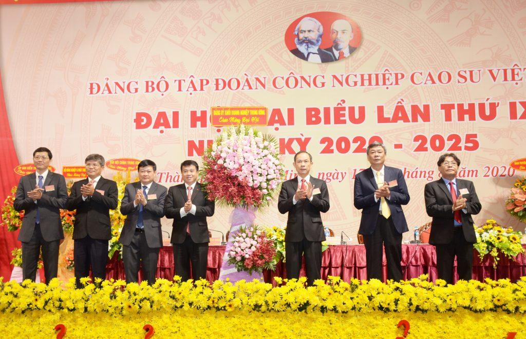 Đ/c Trần Công Kha đắc cử Bí thư Đảng ủy VRG