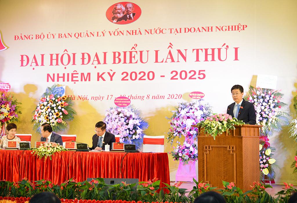 Đại hội đại biểu Đảng bộ Ủy ban Quản lý vốn nhà nước tại doanh nghiệp lần thứ I, nhiệm kỳ 2020 - 2025 thành công tốt đẹp