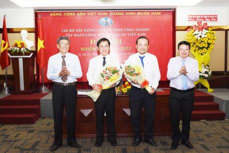Đảng bộ Cơ quan Công ty mẹ VRG tổ chức đại hội chi bộ điểm