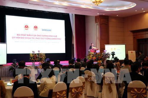 Tăng kết nối doanh nghiệp Việt trong chuỗi cung ứng toàn cầu