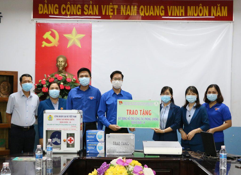 Đoàn Thanh niên VRG hỗ trợ phòng chống dịch Covid-19