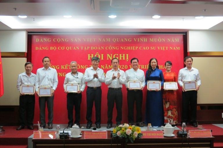Đảng ủy cơ quan VRG lãnh đạo thực hiện hiệu quả nhiệm vụ chính trị