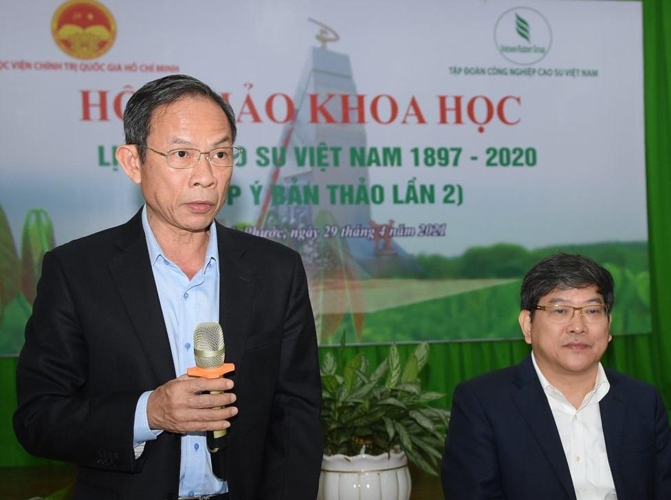 Dự kiến xuất bản công trình Lịch sử Cao su Việt Nam vào ngày 19/5