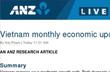 ANZ: Việt Nam có thể tiếp tục nới lỏng tiền tệ