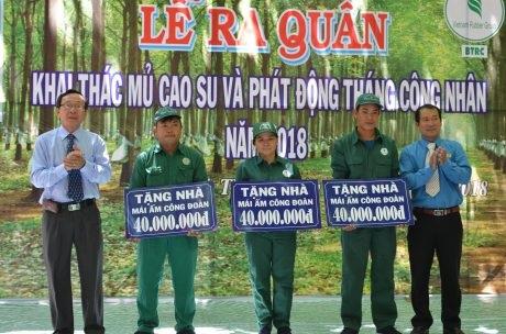 Cao su Bình Thuận phấn đấu thu mua 9.000 tấn mủ