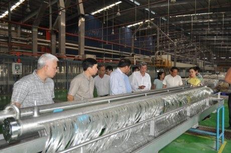 Chỉ sợi Sado mở rộng thị trường xuất khẩu