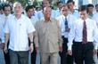 Chủ tịch Quốc hội Nguyễn Sinh Hùng và Chủ tịch Quốc hội Campuchia thăm Tập đoàn Cao su Việt Nam tại Bình Dương