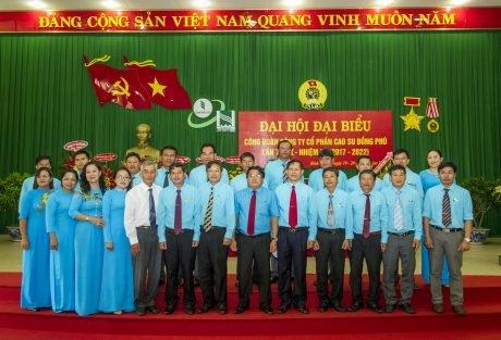 Ông Nguyễn Sư Sơn tái trúng cử Chủ tịch Công đoàn Cao su Đồng Phú