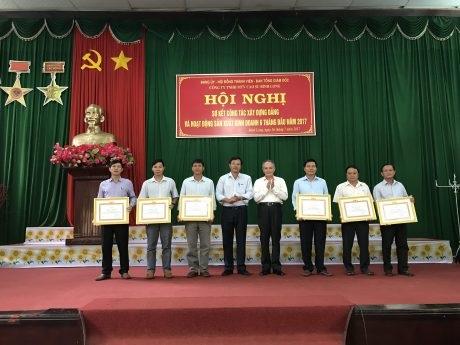 Tổng doanh thu Cao su Bình Long 6 tháng đạt gần 450 tỷ đồng