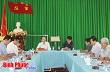 Phó bí thư tỉnh ủy Lê Văn Châu kiểm tra công tác chuẩn bị đại hội tại Đảng bộ Công ty cao su Đồng Phú