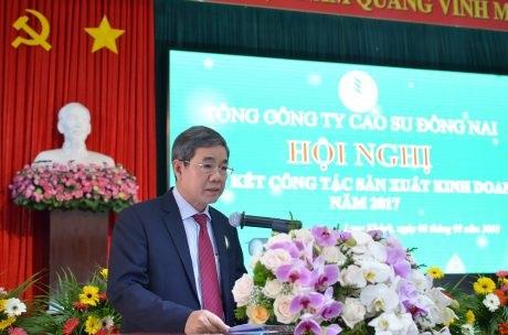 Cao su Đồng Nai phấn đấu thu nhập bình quân 9,3 triệu đồng/người/tháng