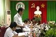 Đoàn công tác Ủy ban KHCN-MT Quốc hội làm việc tại Công ty TNHH MTV Cao su Phú Riềng