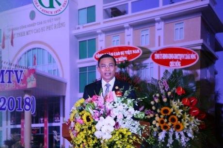 Hào hùng 40 năm Cao su Phú Riềng