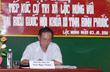 Đ/c Trần Ngọc Thuận, Tổng giám đốc Tập đoàn, đại biểu Quốc hội tiếp xúc cử tri 2 huyện Lộc Ninh và Chơn Thành