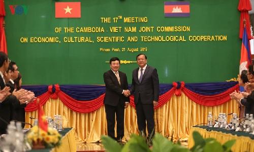 Việt Nam - Campuchia ký thỏa thuận nội dung hợp tác trong 28 lĩnh vực