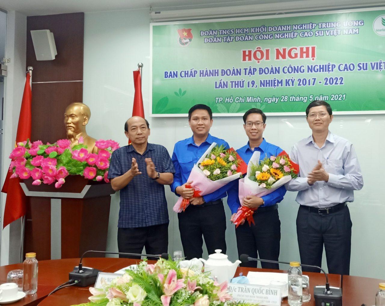 Đồng chí Trần Quốc Bình giữ chức Bí thư Đoàn Thanh niên VRG